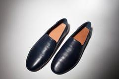 Manlig sko från över Royaltyfri Bild