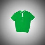 Manlig t-skjorta mot lutningbakgrunden Arkivbilder
