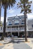 MANLIGT AUSTRALIA-DEC 16TH: Det Ivanhoe hotellet i manligt på Decembe Royaltyfria Foton