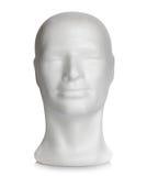 Manligt huvud av polystyren arkivfoton