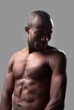 Manligt och muskulöst. Arkivbilder