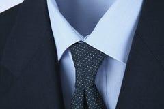 Manligt skjortaband och omslag Royaltyfri Fotografi