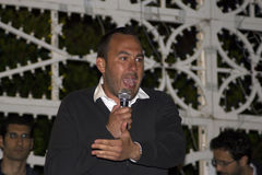 Manlio di stefano on stage Stock Images