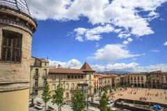 Manlleu,Catalonia,Spain Royalty Free Stock Photos