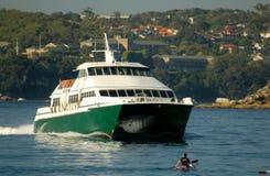 manly bärplansbåt Royaltyfria Bilder