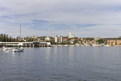 Manly Beach. Ferry station in Sydney, Australia Royalty Free Stock Images