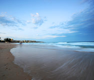 Manly Beach. Evening on Manly Beach Sydney Australia Royalty Free Stock Image