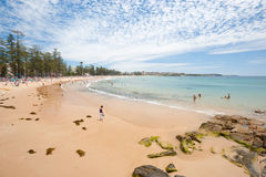 Manly Beach, Australia Royalty Free Stock Photography