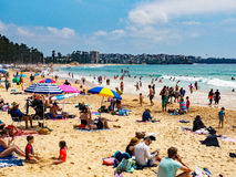 Manly Beach, Australia Royalty Free Stock Photos
