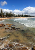 Manly Beach From South Steyne Royalty Free Stock Photo