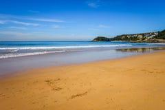Manly Beach, Sydney, Australia. Manly Beach landscape, Sydney, New South Wales, Australia Royalty Free Stock Photography