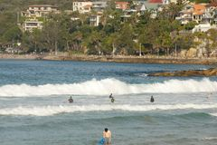 Manly Beach. New South Wales - Australia Stock Images
