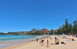 Manly Beach Stock Photos