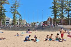 Manly Beach Royalty Free Stock Photos