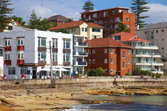 Manly Beach Suburb in Australia Royalty Free Stock Image