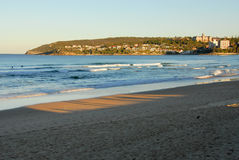 Manly beach, Sydney, Australia royalty free stock image
