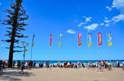 Manly Beach, Sydney, Australia. Royalty Free Stock Photos