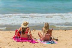 Manly Beach in Sydney, Australia Royalty Free Stock Photos