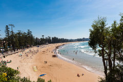 Manly beach in Sydney, Australia Royalty Free Stock Image