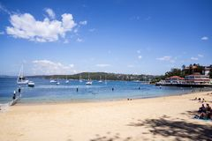 Manly beach in Sydney Australia Stock Photo