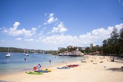 Manly beach in Sydney Australia Stock Photos