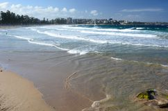 Manly beach. Sydney. New South Wales. Australia Royalty Free Stock Photos