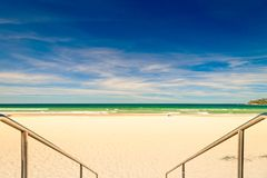 Manly beach view, Sydney, Australia Stock Image