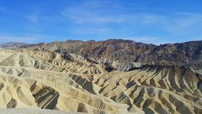 Manly Beacon view in Death Valley Stock Images