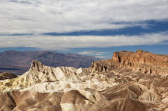 Manly Beacon Viewed From Zabriskie Point Stock Photos