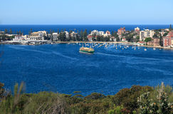 Manly Cove From Sydney Harbour National Park Stock Photography