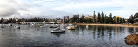 Manly Cove Stock Image