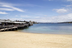 Manly Cove. And wharf, Sydney, NSW, Australia Royalty Free Stock Image