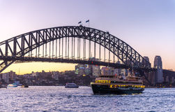 Manly ferry in Sydney Stock Photos