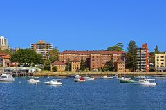 Manly harbour, Sydney, Australia Stock Image