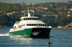 Manly Hydrofoil Royalty Free Stock Images