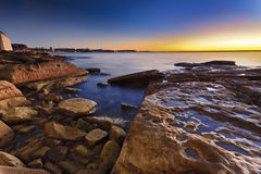 Manly Rocks 01 Rise Royalty Free Stock Photography