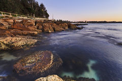Manly Rocks 02 Rise Stock Images