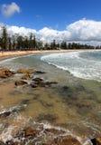 manly södra steyne för strand Royaltyfri Foto