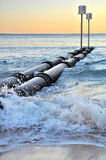 Manly Storm Drain Pipes Stock Photography