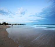 Manly strand Royaltyfri Bild