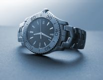 Manly Watch. A photo of a pricey mens watch Stock Image