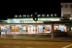 Manly Wharf, Australia. This historic gateway to Manly has been transformed into a must see Sydney tourist attraction and is the constant focus of planning Royalty Free Stock Photo