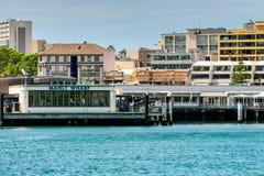 Manly Wharf Ferry Station, Sydney, Australia Stock Photo