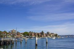 Manly wharf and ferry terminal Stock Photography