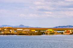 Manmade Floating Islands View Royalty Free Stock Photo