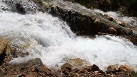 Manmade vattenfall lager videofilmer
