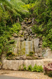 Manmade waterfall Royalty Free Stock Image
