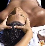manmassage royaltyfri foto