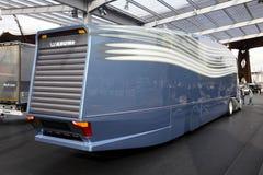 MANN aerodynamischer Konzept-LKW Lizenzfreie Stockbilder