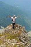 Mann auf Berg Pirin Lizenzfreie Stockfotografie